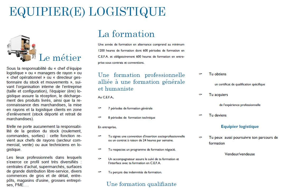 equipier logisique1